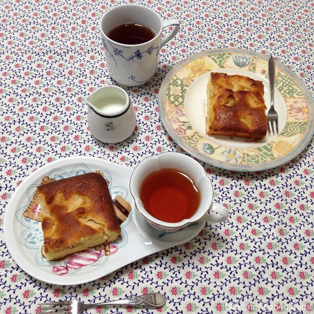 りんごのケーキ(作り方)